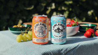 Lowlander's low alcohol beer is really refreshing