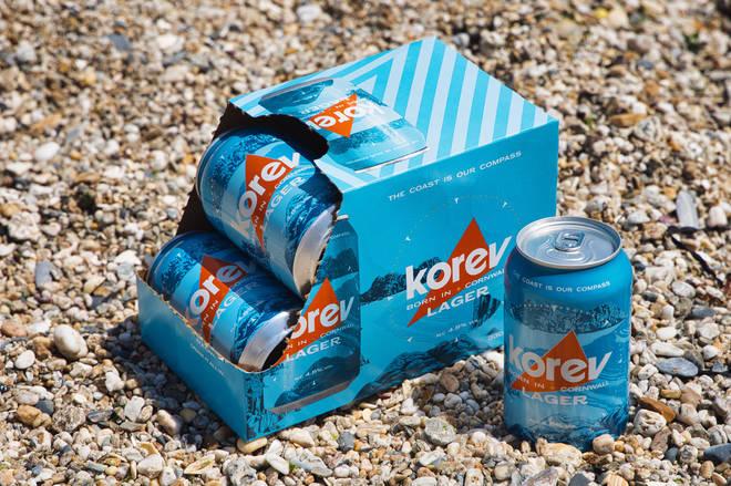 korev comes in plastic-free packaging