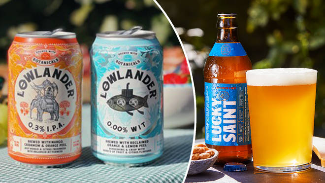 Enjoy a beer without the booze with these delicious options