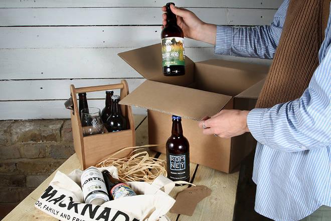 Get nine exciting beers to your door every month