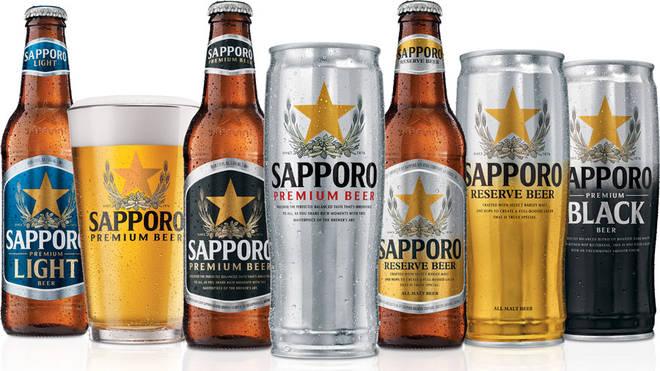 Sapporo is one of Japan's best beers