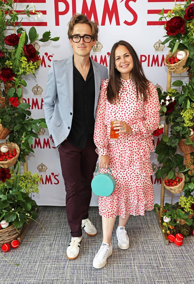 Giovanna and husband Tom Fletcher have three sons