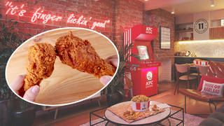 Non-stop fried chicken in a trendy hotel? Yes please!