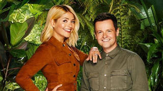 Holly has joined Dec to co-host I'm A Celeb