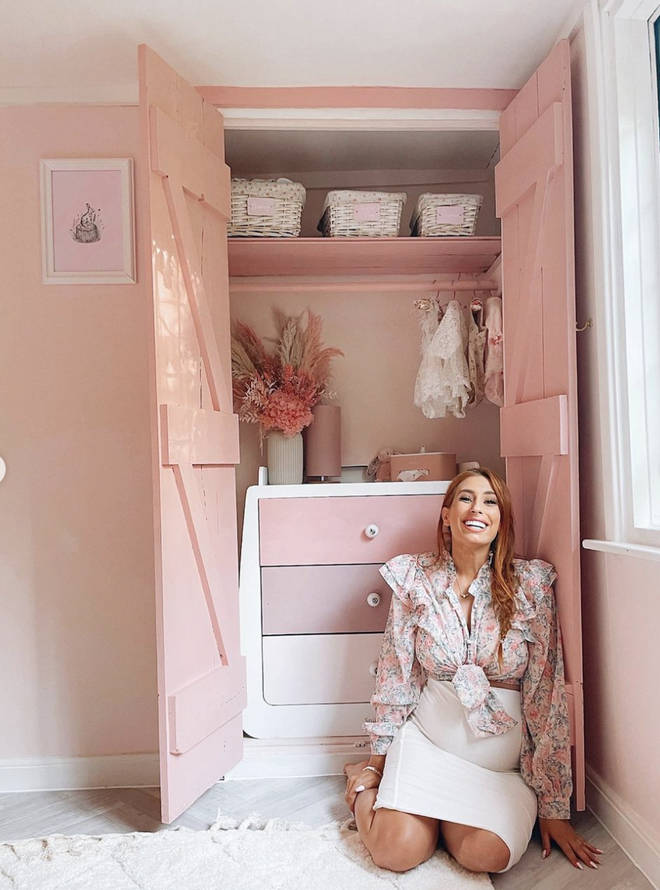 Stacey Solomon has been transforming her house in recent months