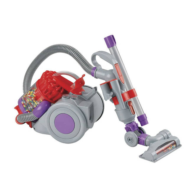 This Child Size Dyson Vacuum Cleaner Actually Works Heart