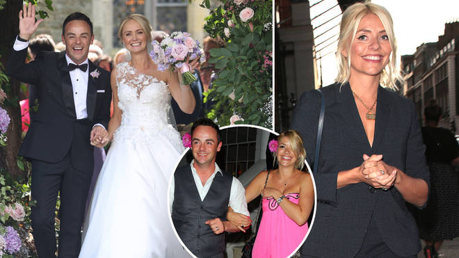 Holly Willoughby was not in attendance at Ant McPartlin's wedding to Anne-Marie Corbett over the weekend