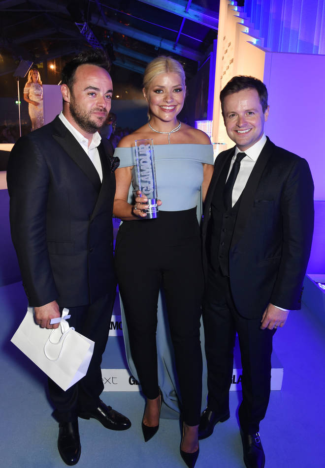 Holly Willoughby is close friends with both Ant and Dec