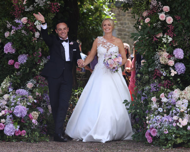 Ant McPartlin married Anne-Marie Corbett over the weekend in a quaint church in Hampshire