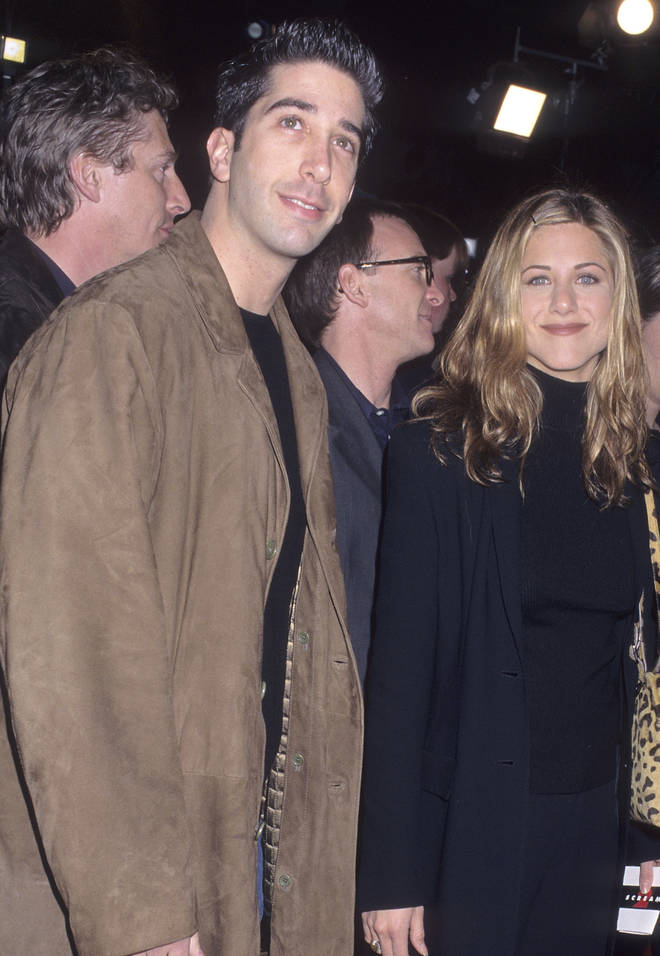 Jennifer Aniston and David Schwimmer starred alongside one another on the hit TV series Friends