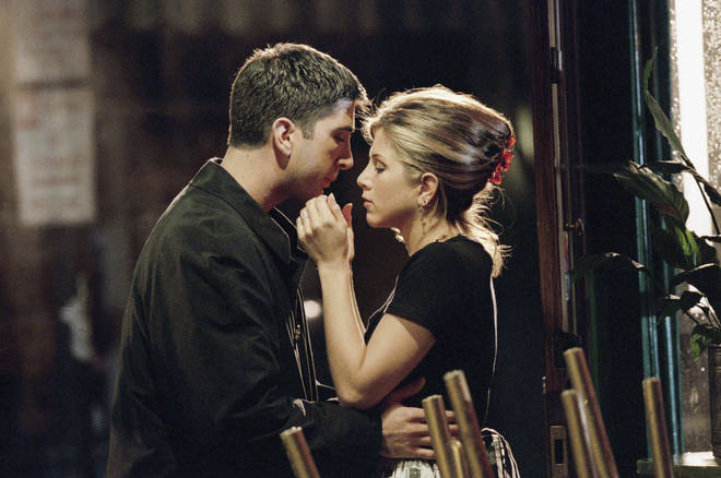 David and Jennifer played on-off couple Ross and Rachel in the hit series