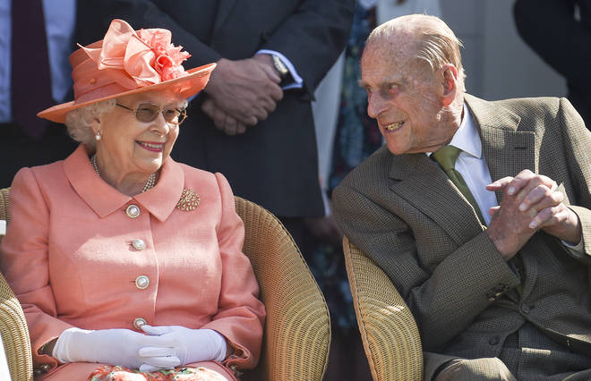 The Queen and Prince Philip are celebrating their 71st anniversary