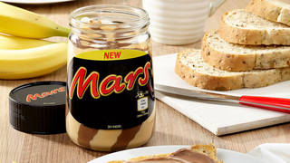 Mars spread will replace Marmite as your breakfast toast topper favourite