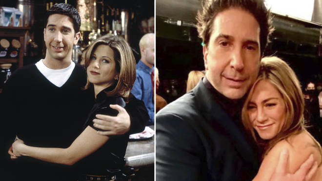 David Schwimmer has denied the reports that he is dating Jennifer Aniston