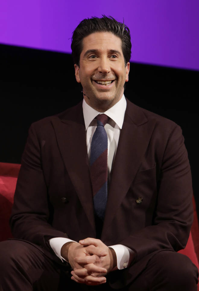 """David Schwimmer said there is """"no truth"""" in the reports he is dating Jennifer"""