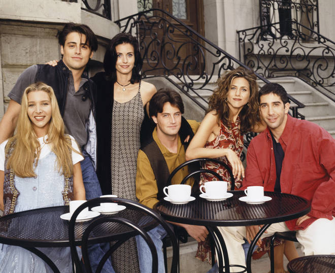 David and Jennifer played Ross and Rachel on the hit TV series Friends