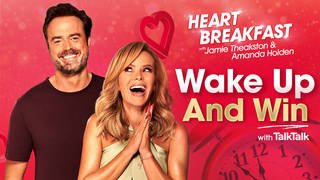 Start your day with a win on Heart Breakfast