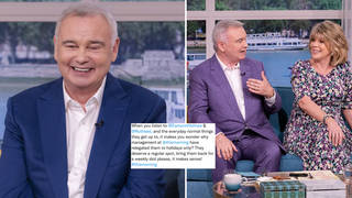 Eamonn Holmes 'liked' a tweet about him being 'relegated to the holiday slot'