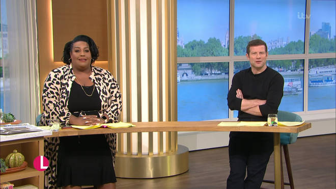 Alison and Dermot present the Friday show together