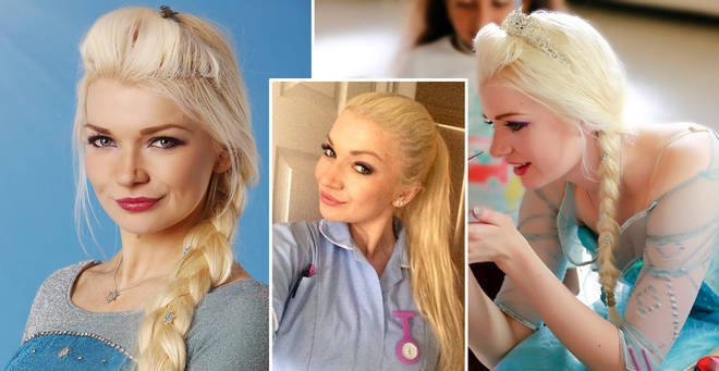 Lydia quit her job as a nurse to become a princess