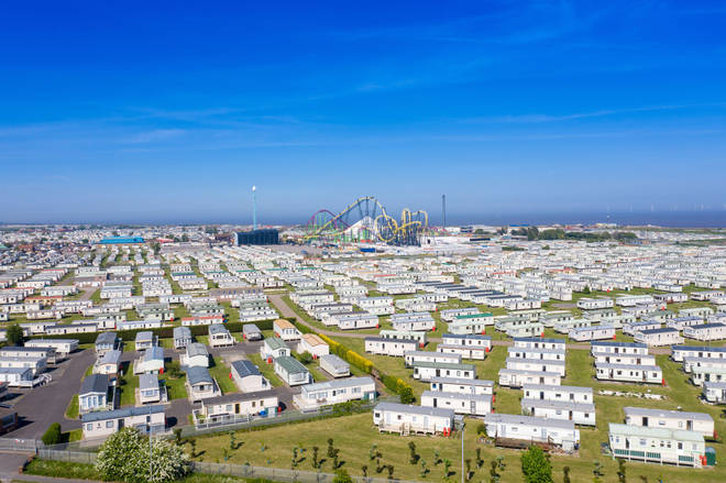 There are loads of caravan parks near Fantasy Island
