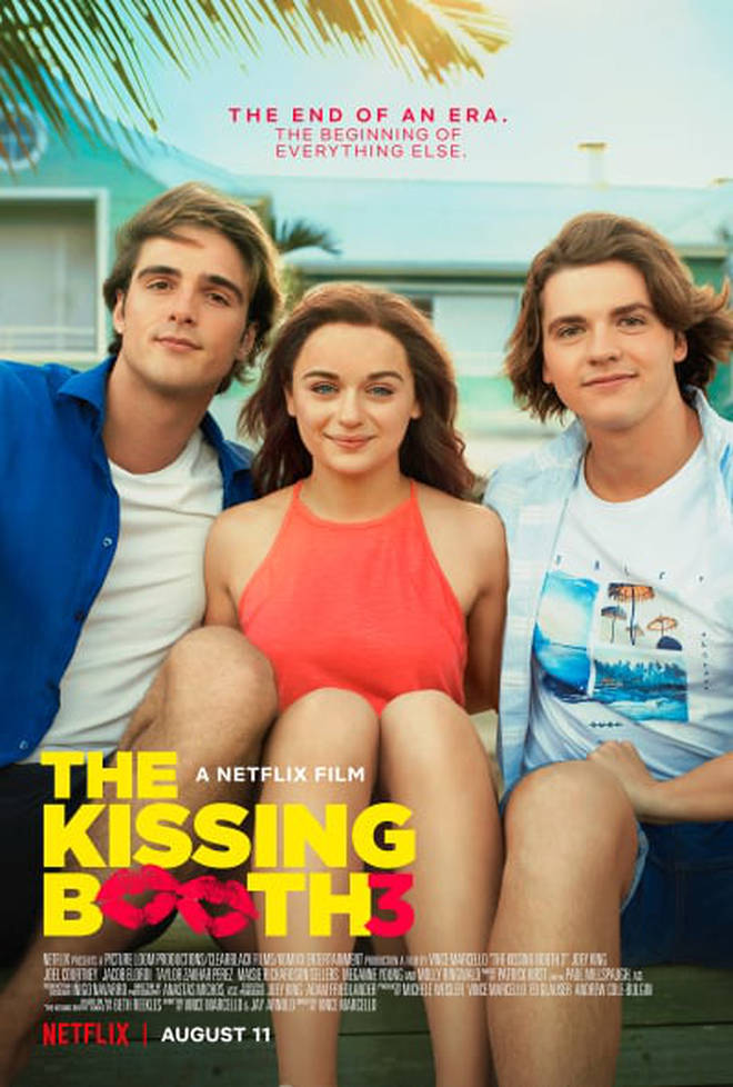 The Kissing Booth 3 is streaming on Netflix now