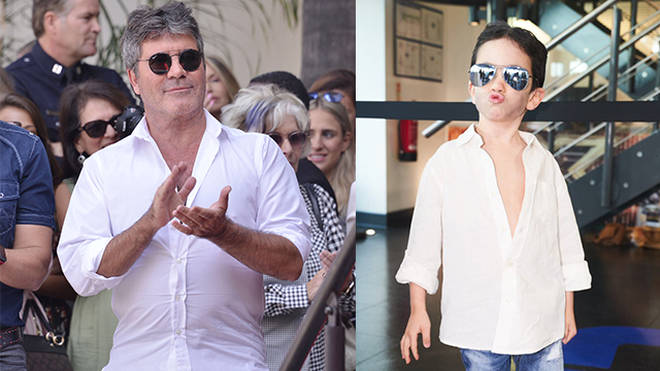 Eric Cowell proved he is a real chip off the old block