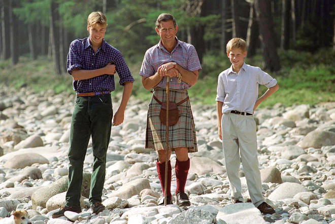 Prince William spent a lot of his childhood at Balmoral Estate with his family