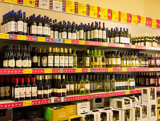 Aldi always has loads of great wines in stock