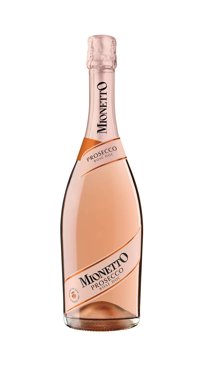 Try this beautiful pink fizz