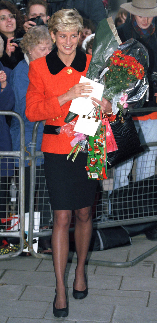 Diana was beloved by followers across the world