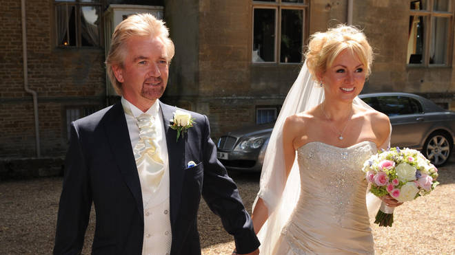 Noel and Liz got married in Gloucestershire in 2009