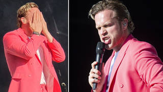 Olly Murs sustained an injury during a recent performance