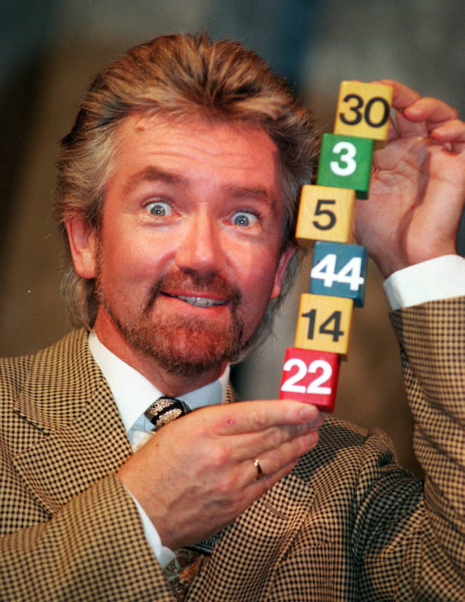 Noel Edmonds was the one time host of the National Lottery