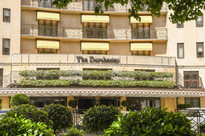 The Dorchester is based in Mayfair in London
