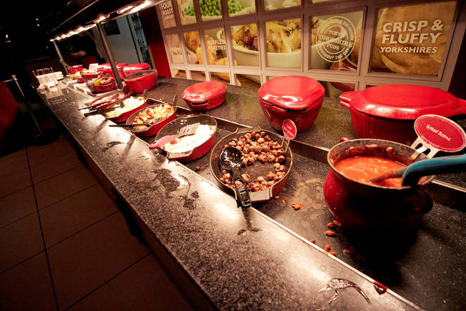 The breakfast buffets are really popular, and Toby Carvery advises people to book in advance