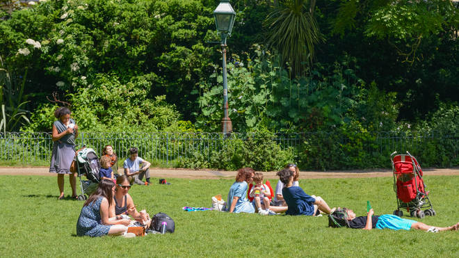 Brits could be basking in hot weather again by the end of the month
