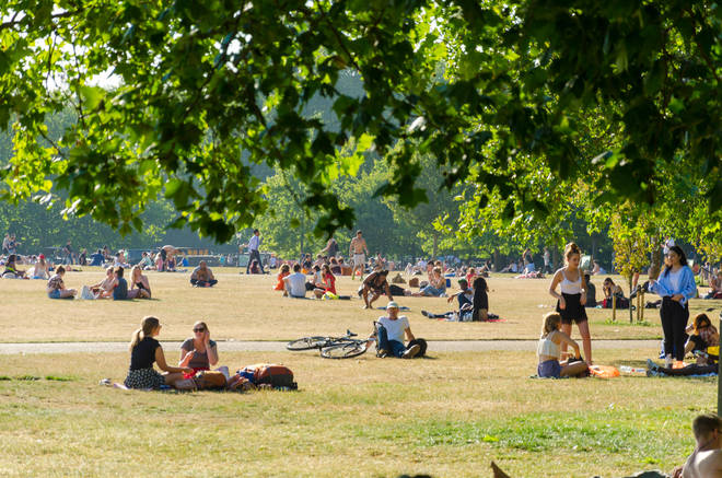 Temperatures could reach 25C this weekend in the south