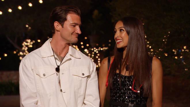 Brett and Priya were voted off Love Island