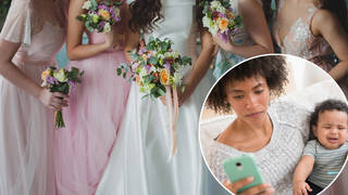 A woman was uninvited from her friend's wedding