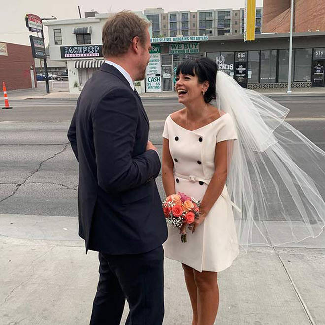 Lily Allen and David Harbour marry in Las Vegas