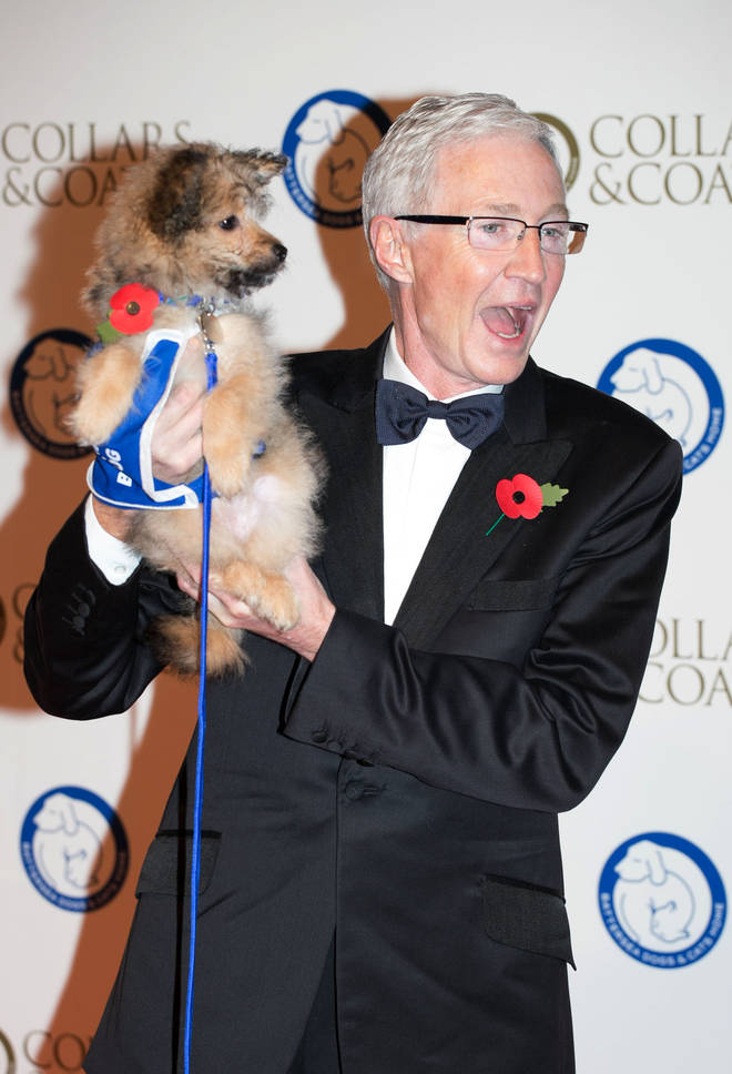 Paul O'Grady certainly has a passion for dogs