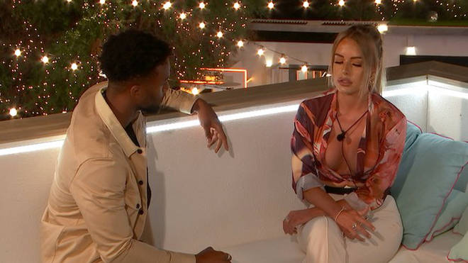 Faye Winter is coupled up with Teddy Soares on Love Island