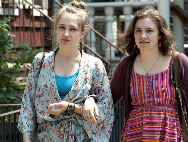 Jemima starred in Girls with friend Lena Dunham