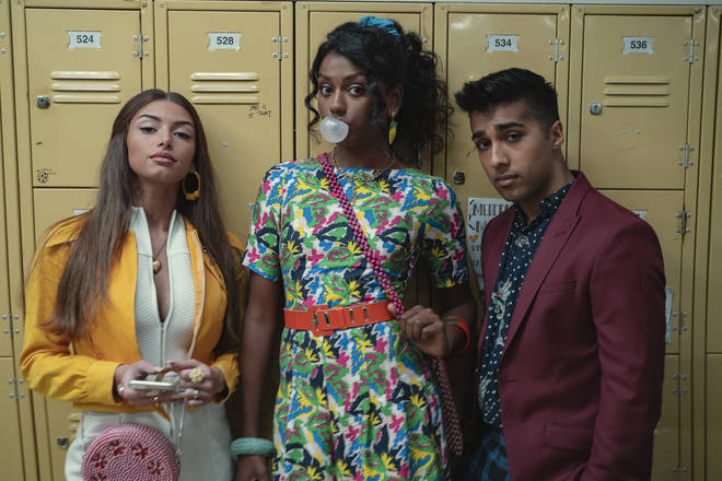 The lockers were inspired by The Breakfast Club