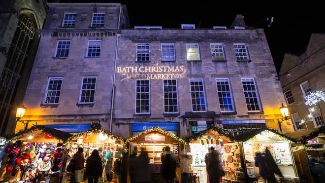 Bath's Christmas Market is among those returning this year