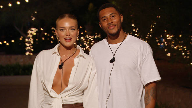 Mary and Aaron were dumped from the Love Island villa