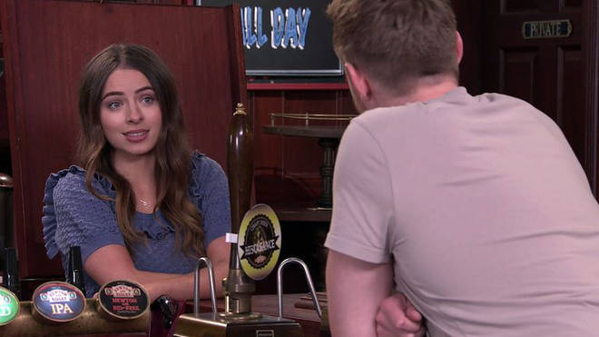 Daisy is getting to know Daniel in Corrie