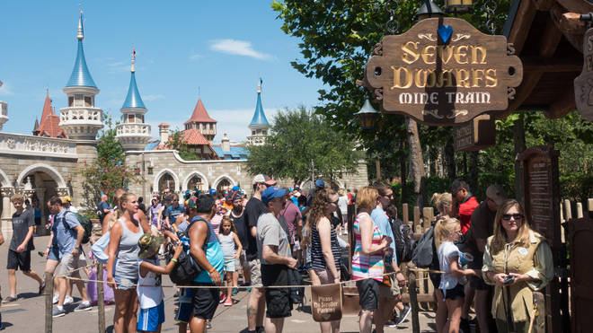 Disney say the Lightening Lanes will reduce queues for attractions