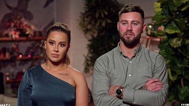 Josh Pihlak and Cathy Evans on Married at First Sight Australia